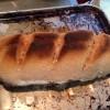 再び拾ったオーブントースターでパンを焼く