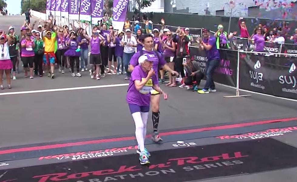 92歳の女性、驚異の肉体と精神力でフルマラソンを完走