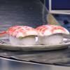 【寿司】空港の手荷物受け取りベルコンに まさかの寿司