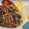 【KAWAII MONSTER CAFE】レインボーパスタの毒々しさが半端ないの巻・・・