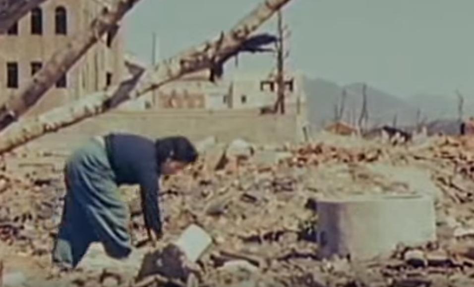 【貴重映像】原爆投下から7ヶ月、広島の貴重映像(カラー音声なし)