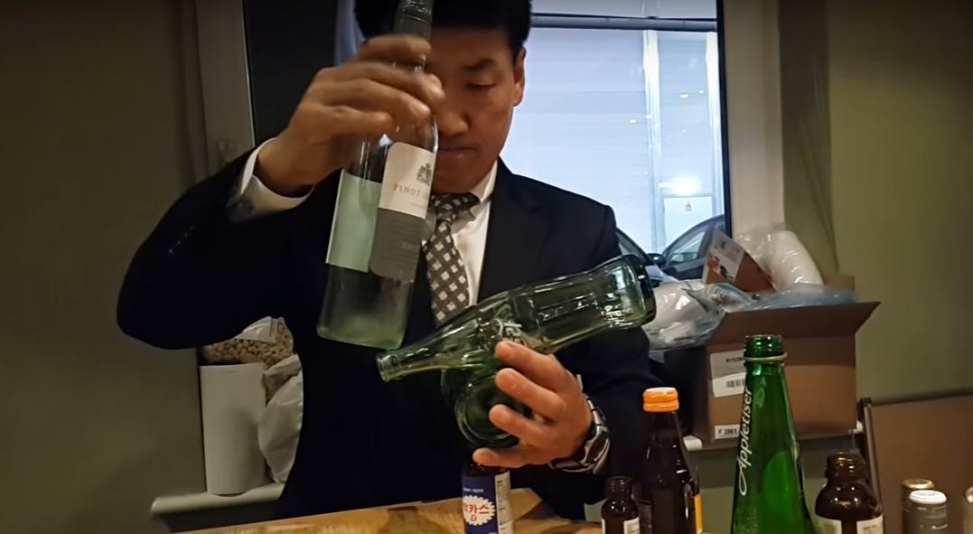 ボトルをつかったバランス