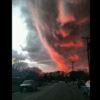 ただの夕焼け雲かと思ったら、気絶するほど怖かった・・・