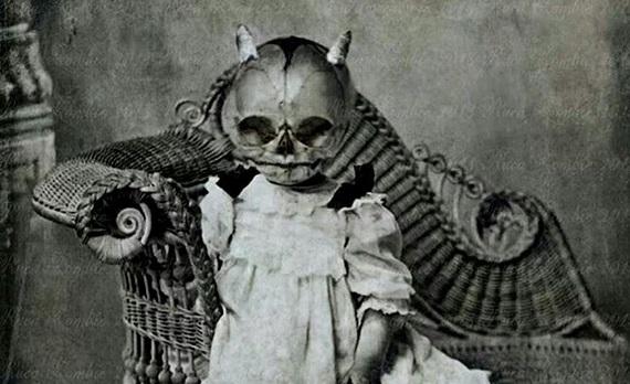 昔のハロウィン 怖い