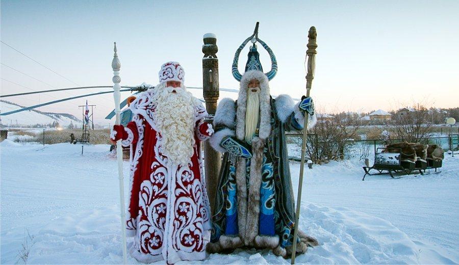 ロシア サンタクロース