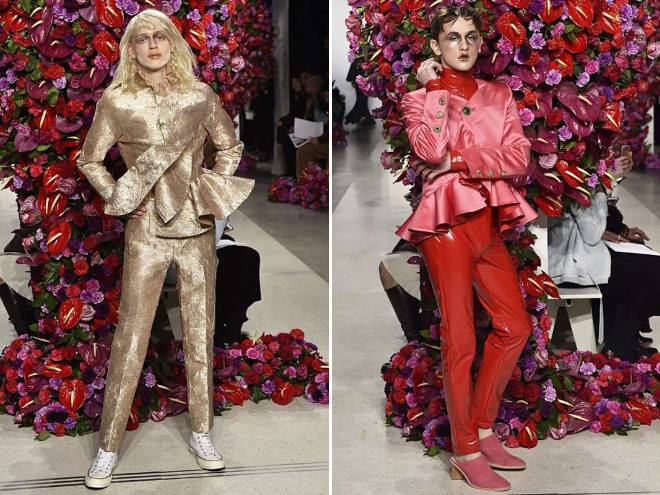 ファッションショー 変態