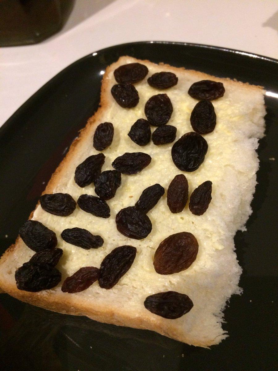 レーズン 食パン 焼く