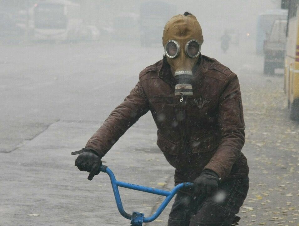 中国 大気汚染 核戦争