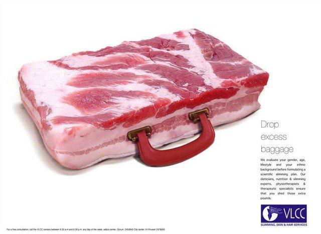 肉 カバン